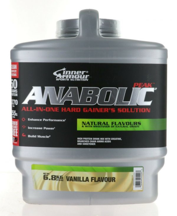 Inner Armour® Anabolic Peak Gainer 15Lbs ALL IN ONE HARD GAINER SOLUTION VANILLA