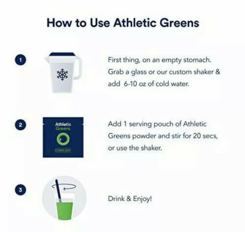 17 - 12g Individual Packets Athletic Greens Ultimate Daily Whole Food NEW NO BOX 3