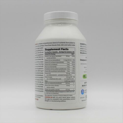 Andrew Lessman Healthy Hair Skin & Nails 5,000 MCG Biotin 360 Capsules 9/30/2023 1
