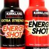 Kirkland 5+ Hours Energy Shot OR Extra-Strength No Sugar/Carb, 2 OZ. Your Choice