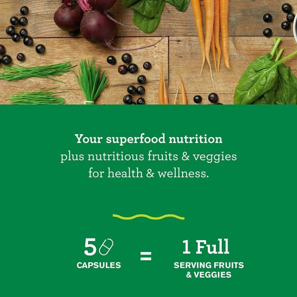 Amazing Grass Green Superfood Capsules: Super Greens with Spirulina,... 1