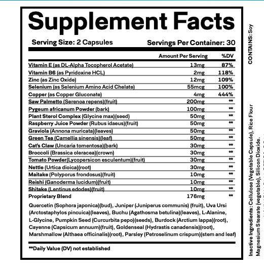 (3 Bottles) ProstaStream - Prosta Stream, Prostate Support Supplement 60 Caps 2