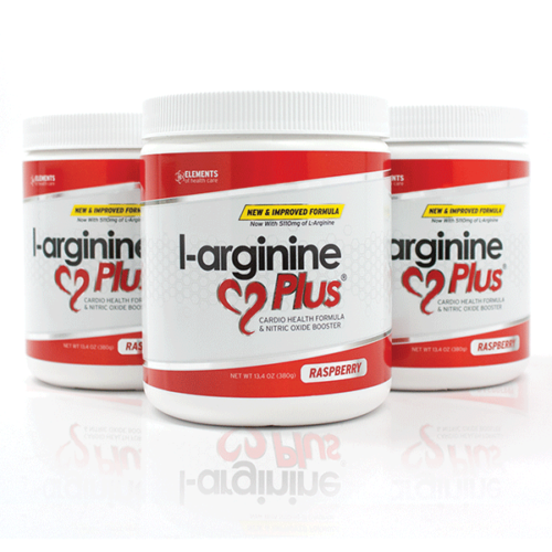 3 Bottles of Raspberry L-arginine Plus