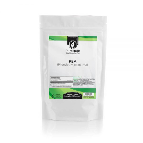 Beta Phenylethylamine HCL (PEA) Powder 3rd Party Tested PureBulk (Variations)