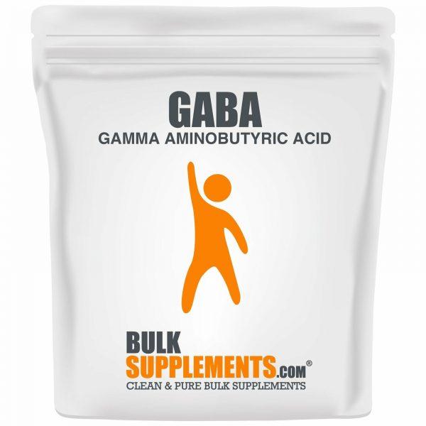 BulkSupplements.com Gamma Aminobutyric Acid (GABA) 750mg Powder - Focus Aid