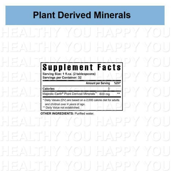Plant Derived Minerals (4 PACK) Youngevity [S] 1