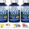 540 Focus Factor Brain Health Dietary Supplement tablet Memory Concentration 180