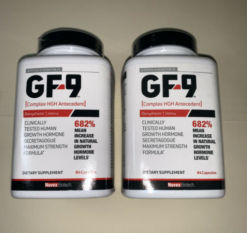 Basic Research GF-9 Dietary Supplement 168 Capsules(2) bottles exp.12/2022