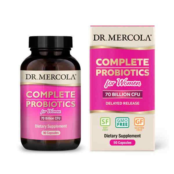 Complete Probiotics for Women (70 Billion CFU) - 90 Day Supply
