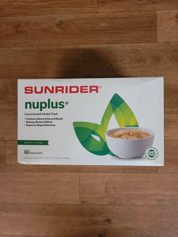 SUNRIDER NUPLUS SIMPLY HERBS  60 pack
