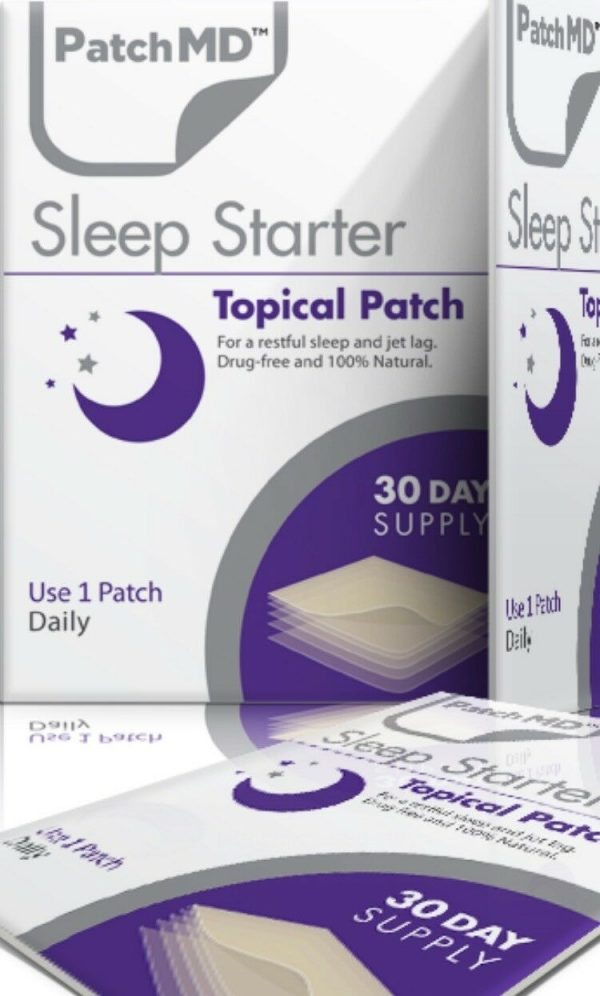 PatchMD Sleep Starter Topical Patch 30 Day Supply Supplement Patch-MD Ex 2022* 6