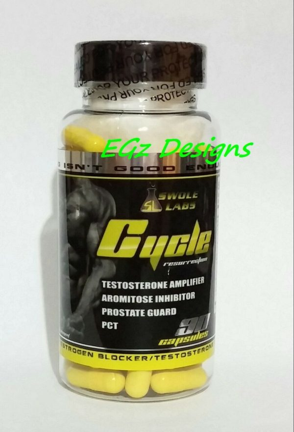 SWOLE LABS * TRI-MENTAL & CYCLE RESURRECTION PCT - EXTREME 2 PACK COMBO!! 4