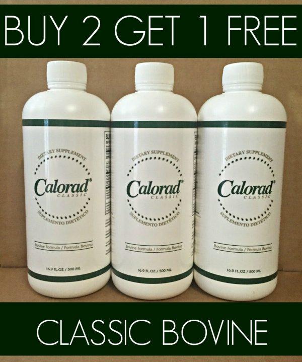 Calorad/Buy 2 Get 1 FREE /Bovine Classic As Seen on TV / Calrad Exp 08/2023
