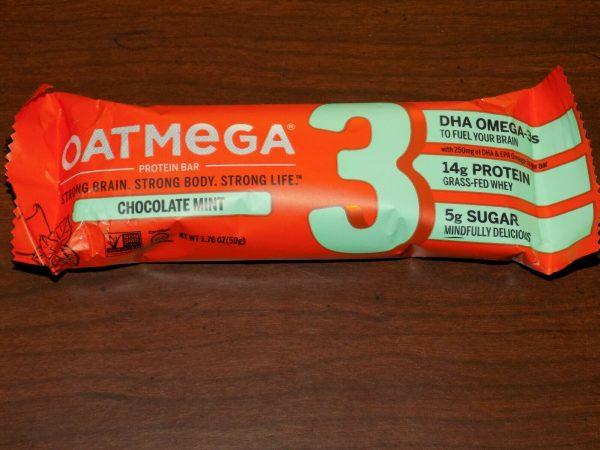 84 OatMega Protein Bars 3 Flavors Vanilla Almond, Choc Mint & Choc Peanut 09/21+ 4