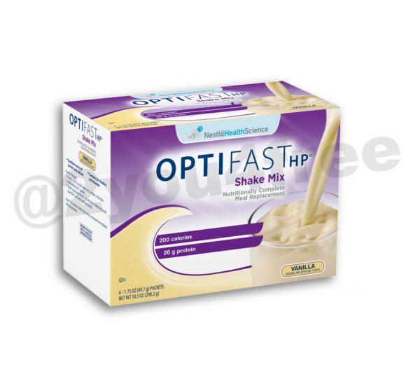 OPTIFAST® HP   HIGH PROTEIN VANILLA SHAKE MIX   FRESH DATES   AUTHENTIC