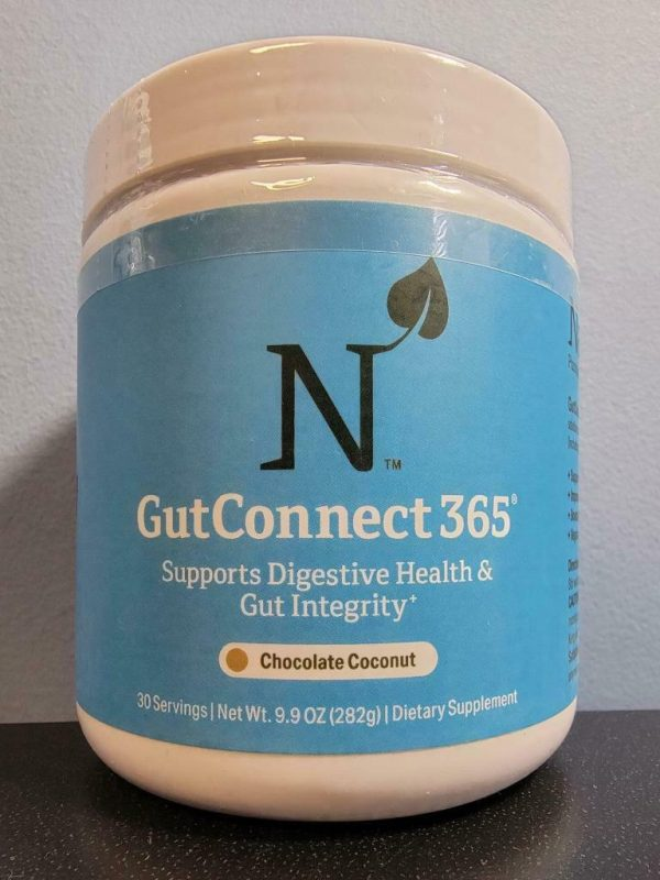 Chocolate Coconut - Nature M.D. GutConnect 365 9.9 oz - New / Sealed! Exp 2/2023
