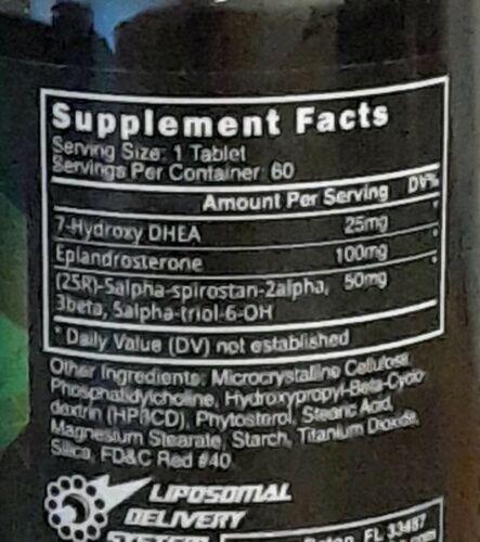 Innovative Labs/BLACKSTONE LABS supplement lot 2