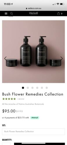 WelleCo - Bush flower remedies collection brand new 1