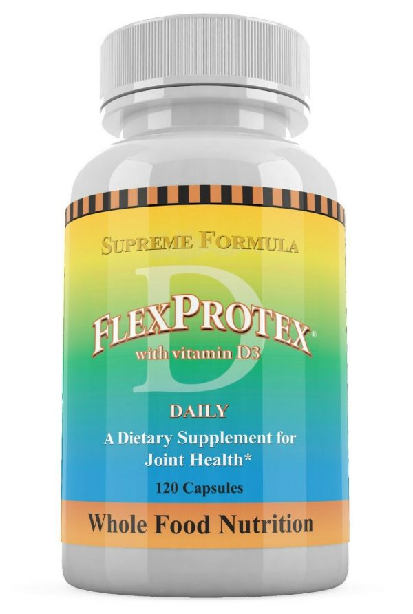 FlexProtex D Herbal Joint Relief Supplement Chondroitin Hyaluronic Acid 6 Pack 4