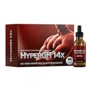 1 HyperGH 14x Box (Tablets) + 1 Bottle (Spray) Combo Muscle Growth Supplement