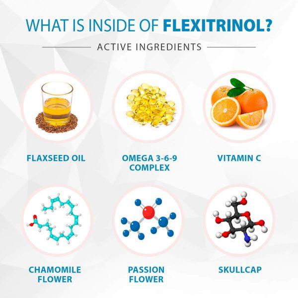 Flexitrinol Joint Health Formula - 1 Bottle - 100% Natural - Reduces Joint Pain 3