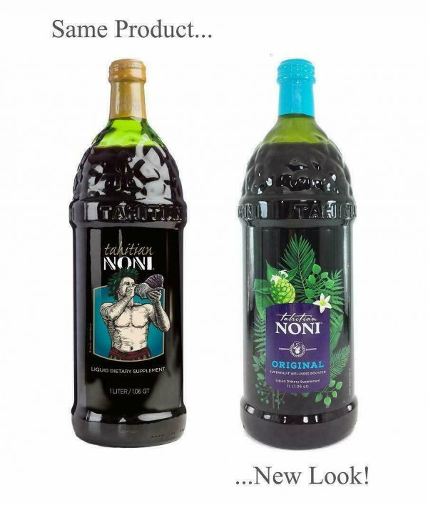 Tahitian Noni Juice - (4) 1 liter bottle   good tell end date 2022 Special Sale  2