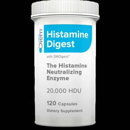 DIEM Labs Histamine Digest with Daogest 120 Caps.