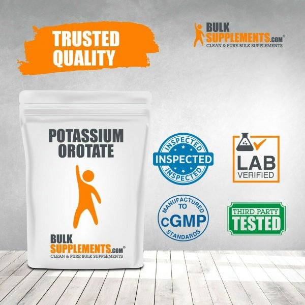 BulkSupplements.com Potassium Orotate - Fasting and Electrolyte Supplements 4