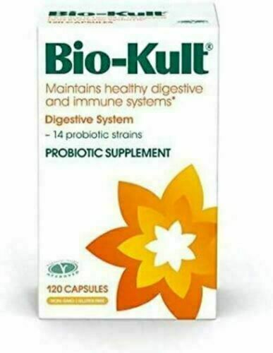 Bio-Kult Advanced Probiotics -14 Strains Healthy Digestive, Immunity, 120 Caps