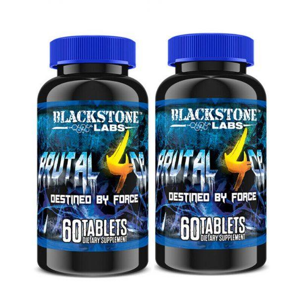BlackStone Labs BRUTAL 4ce 60 Tablets- 2 Pack