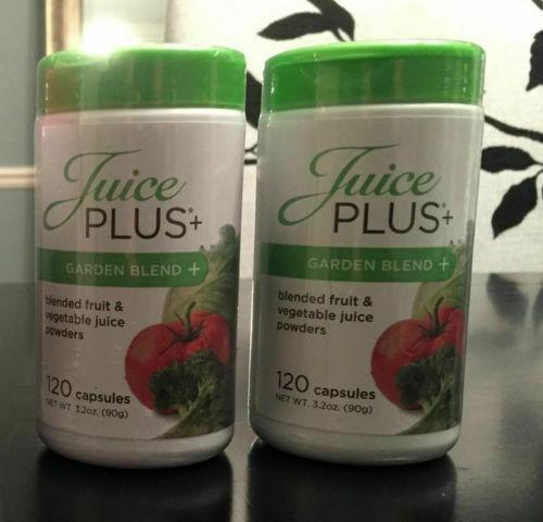JUICE PLUS+ VEGETABLE BLEND. 2 Bottles = 4 Month Supply. Exp12/2018-12/2021. 5