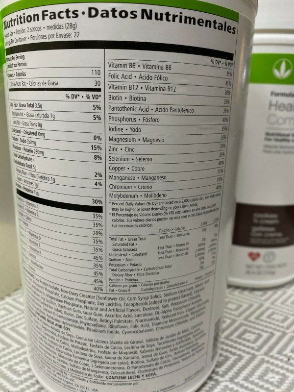 HERBALIFE FORMULA 1 HEALTHY MEAL & PROTEIN DRINK MIX (ALL FLAVORS)  free shippin 5
