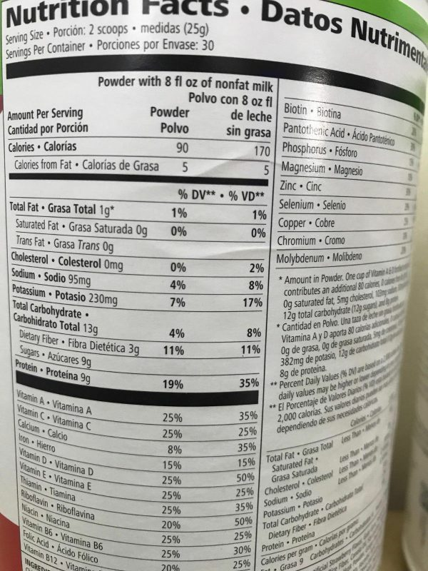 NEW HERBALIFE FORMULA 1 HEALTHY MEAL SHAKE AND PROTEIN DRINK MIX (MULTI FLAVORS) 3