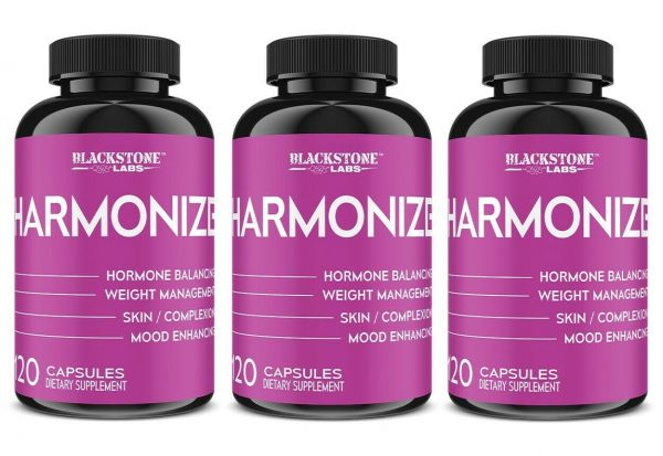 Blackstone Labs HARMONIZE support weight management, increases libido- 3 Bottles