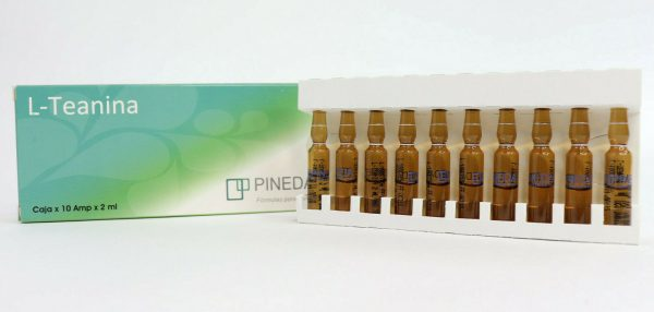 Pineda L-Theanine Mesotherapy L-Teanina Mesoterapia Stress Cellulite Weight loss 1