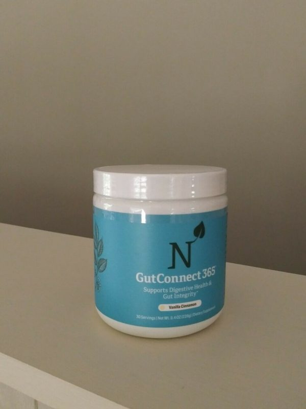 United Natural's Gut Connect 365/30 serving Vanilla Cinnamon Factory Sealed