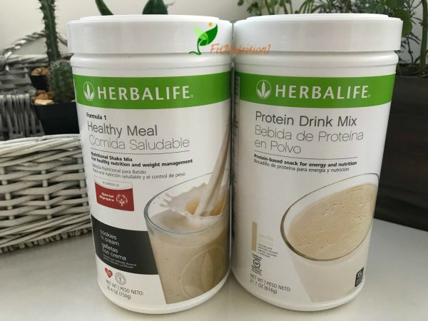NEW HERBALIFE FORMULA 1 HEALTHY MEAL SHAKE AND PROTEIN DRINK MIX (MULTI FLAVORS)