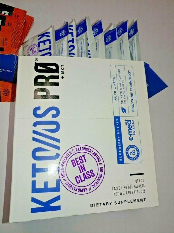 PRUVIT KETO//OS PRO +MCT BLUEBERRY MUFFIN (12) & ORANGE DREAM (7) 2