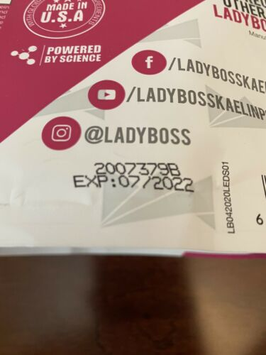 Lady Boss Lean Orange Dreamsicle Premium Protein Shake Mix 1 Bag LadyBoss New 2