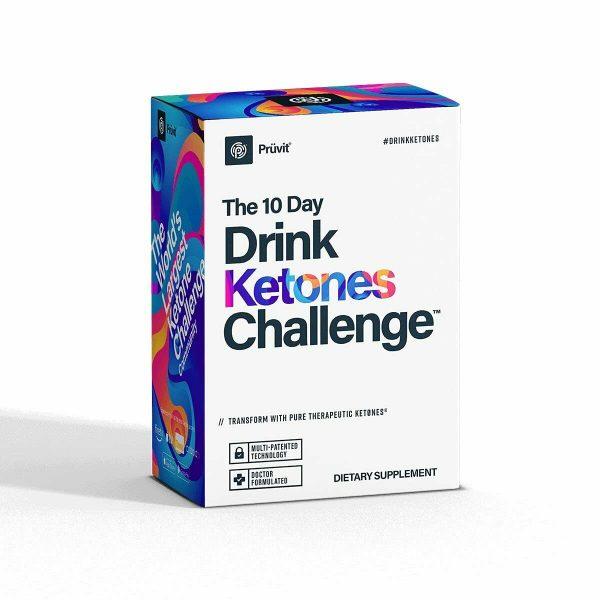 Pruvit 10 Day Drink Ketones Challenge - Ketones Challenge Pack for Energy Boost