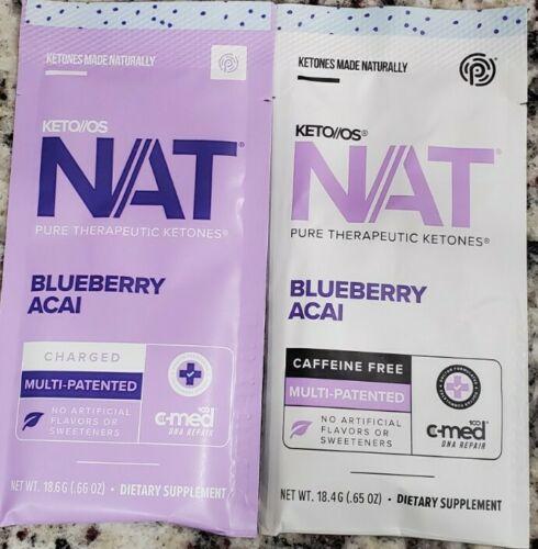 Pruvit NAT KETO OS Blueberry Acai 5 & 10 Packets You pick