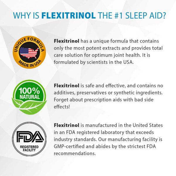 Flexitrinol Joint Health Formula - 1 Bottle - 100% Natural - Reduces Joint Pain 1