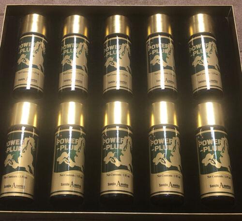POWER - PLUS Drink Ginseng Energy Herb Bottles 1 Oz X 10 Count Bottles 1
