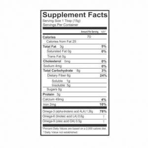 2 Pck Nopalina Flax Seed Plus Fiber 240 CAP /Free Samples Nopalina & Detox Juice 1