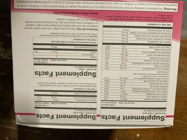 Theralogix Thera Natal Complete Prenatal Vitamin & Minerals 13 week supply 2