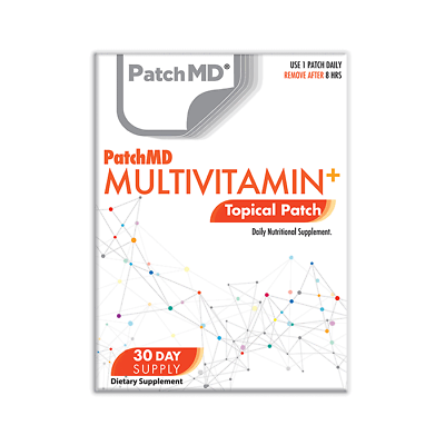 PatchMD Multi Plus Topical Multivitamin Patch 30 Days BEWARE OF FAKES$ Ex 2022 1