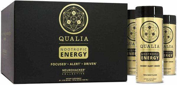 Qualia Nootropic Energy Shot - 20 Pack