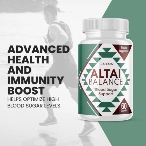 Altai Balance All-Natural Blood Sugar Support Formula - 3 Pack 3