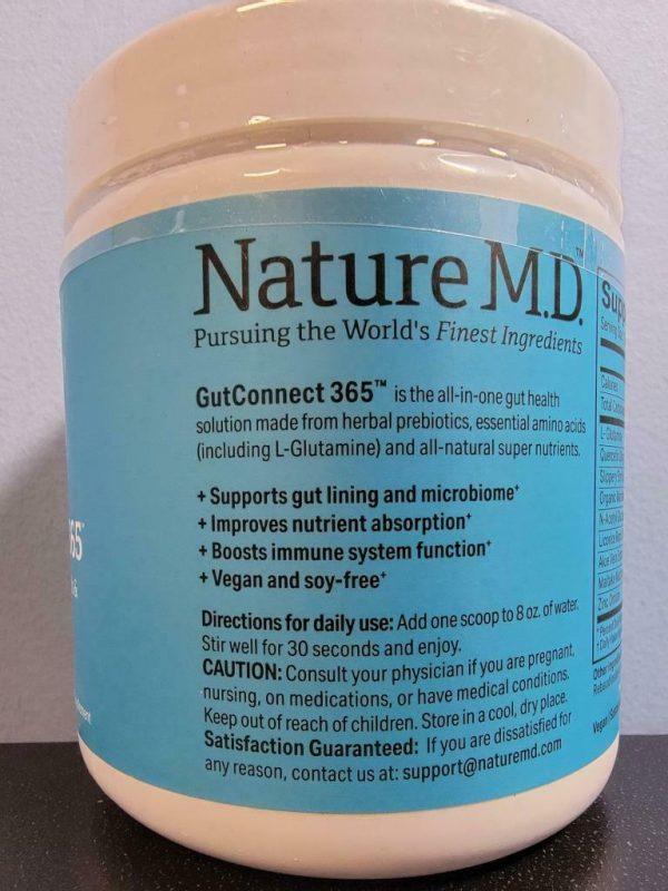 Vanilla Cinnamon - Nature M.D. GutConnect 365 8.4 oz - New / Sealed! Exp 3/2023 1