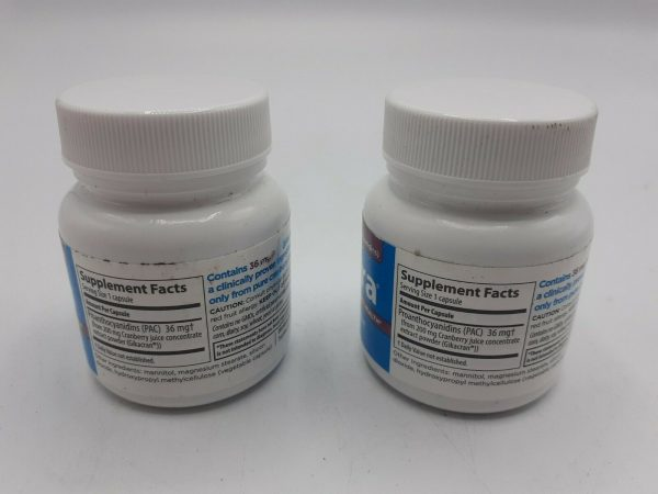 (LOT OF 2) ellura 36 mg PAC 30 Capsules - Urinary Tract Health Supplement 1